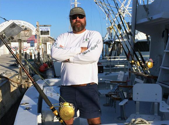 Captain Moe Mottice fishing charters