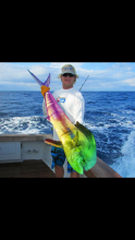 Photo of a Fish Caught by Fisher from Captain Moe's Lucky Fleet's April Fishing Forecast