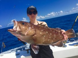 Photo of a Fish Caught by Fisher from Captain Moe's Lucky Fleet's June Fishing Forecast