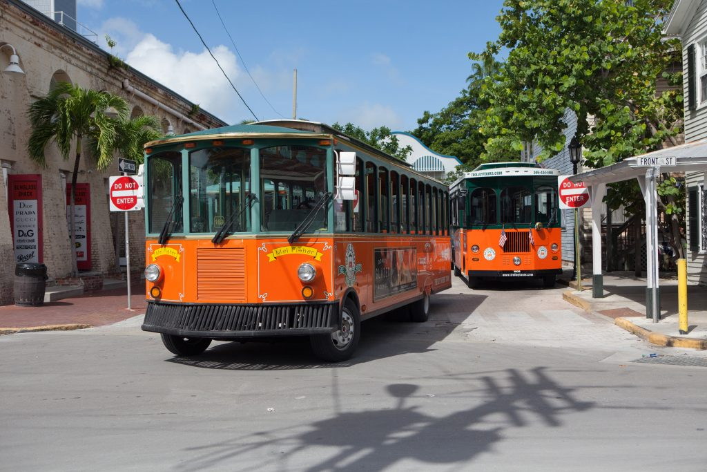 Trolley Tours in Key West FL